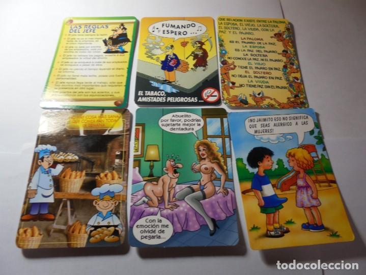 Coleccionismo Calendarios: magnificos 170 calendarios casi todos comicos - Foto 9 - 222406222