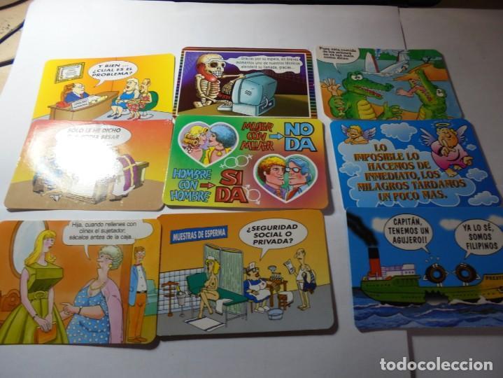 Coleccionismo Calendarios: magnificos 170 calendarios casi todos comicos - Foto 12 - 222406222