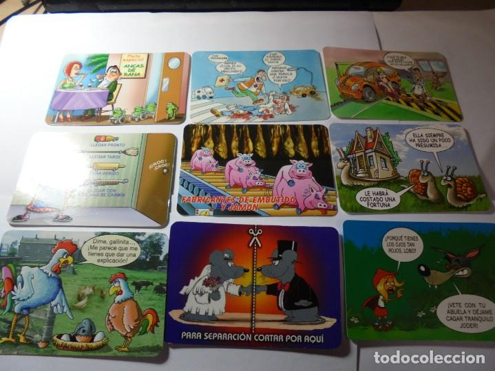 Coleccionismo Calendarios: magnificos 170 calendarios casi todos comicos - Foto 17 - 222406222