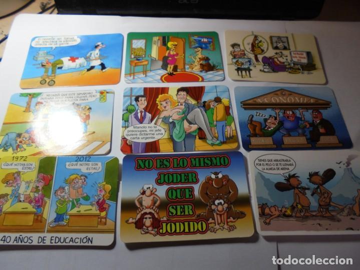 Coleccionismo Calendarios: magnificos 170 calendarios casi todos comicos - Foto 27 - 222406222