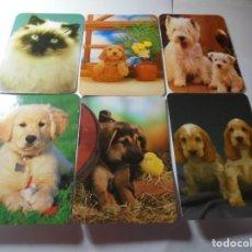 Coleccionismo Calendarios: MAGNIFICOS 280 CALENDARIOS DE ANIMALES. Lote 222409161