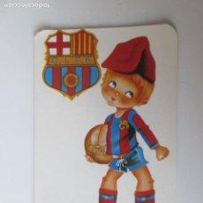 Coleccionismo Calendarios: CALENDARIO DEL F.C. BARCELONA AÑO 2.979. Lote 222523488