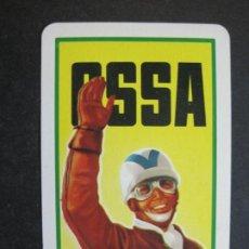 Coleccionismo Calendarios: MOTOS-OSSA MOTOCICLETAS-AÑO 1957-CALENDARIO FOURNIER ANTIGUO-VER FOTOS-(75.268). Lote 222698232