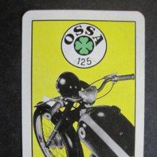 Coleccionismo Calendarios: MOTOS-OSSA MOTOCICLETAS-AÑO 1954-CALENDARIO FOURNIER ANTIGUO-VER FOTOS-(75.269). Lote 222698272