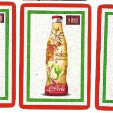 Coleccionismo Calendarios: 3 CALENDARIOS DE COCA COLA 2020. Lote 222700508