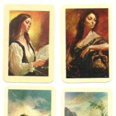 Coleccionismo Calendarios: 4 CALENDARIOS DE 1971 NO FOURNIER.. Lote 222702821