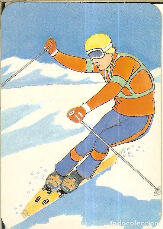 CALENDARIO DE SERIE DIBUJO - 1988 - C.B. Nº 112 - PUBLICIDAD DE MÓSTOLES (Coleccionismo - Calendarios)