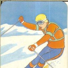 Coleccionismo Calendarios: CALENDARIO DE SERIE DIBUJO - 1988 - C.B. Nº 112 - PUBLICIDAD DE MÓSTOLES. Lote 222710501