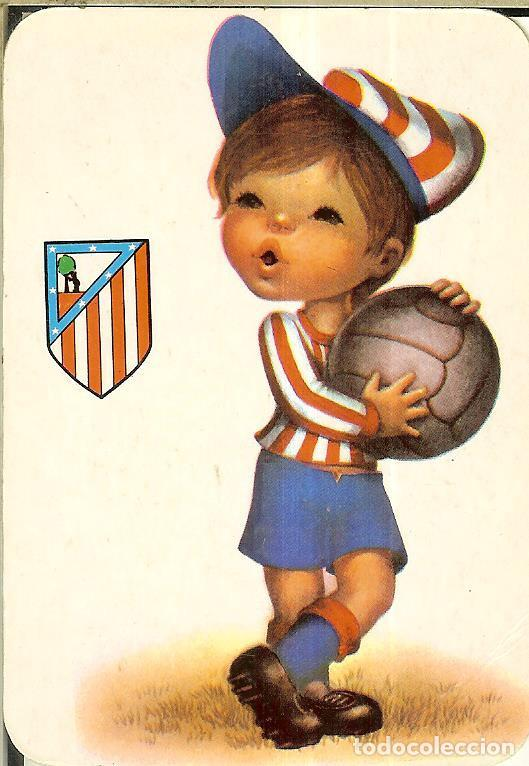 CALENDARIO DE SERIE FÚTBOL - 1988 - C.B. Nº 117 - ATLÉTICO DE MADRID (Coleccionismo - Calendarios)