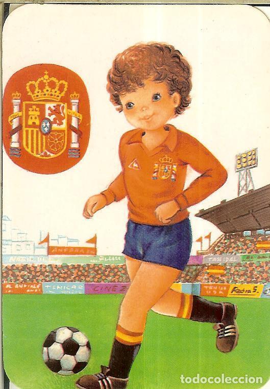 CALENDARIO DE SERIE FÚTBOL - 1988 - C.B. Nº 119 - SELECCIÓN ESPAÑA (Coleccionismo - Calendarios)