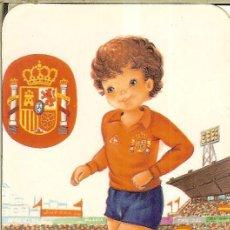Coleccionismo Calendarios: CALENDARIO DE SERIE FÚTBOL - 1988 - C.B. Nº 119 - SELECCIÓN ESPAÑA. Lote 222711866