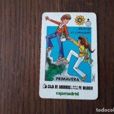 Coleccionismo Calendarios: CALENDARIO FOURNIER CAJA DE AHORROS Y MONTE DE PIEDAD DE MADRID, CAJAMADRID AÑO 1983. Lote 222844671