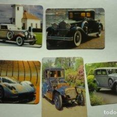Coleccionismo Calendarios: LOTE COCHES ANTOGUOS -DIF.AÑOS. Lote 222844805