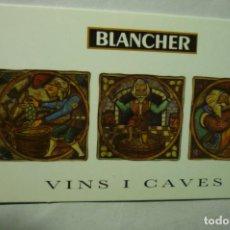 Coleccionismo Calendarios: CALENDARIO CATALAN 2011 CAVA BLANCHER. Lote 222845953