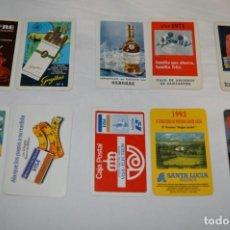Coleccionismo Calendarios: 10 ANTIGUOS CALENDARIOS VARIADOS FOURNIER / DE LOS AÑOS 60 A LOS 90 ¡MIRA FOTOS Y DETALLES! LOTE 05. Lote 224783612