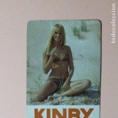 Coleccionismo Calendarios: CALENDARIO DE BOLSILLO. ACCESORIOS DE AUTOMOVIL KINBY. FAESSA INTERNACIONAL, S.A. AÑO 1970.. Lote 225865295