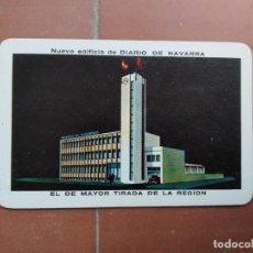 Coleccionismo Calendarios: CALENDARIO FOURNIER DIARIO DE NAVARRA AÑO 1966. Lote 226061717