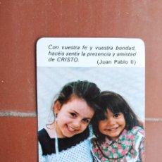 Coleccionismo Calendarios: CALENDARIO FOURNIER MADRES DE DESAMPARADOS Y SAN JOSE DE LA MONTAÑA AÑO 1985. Lote 226065225