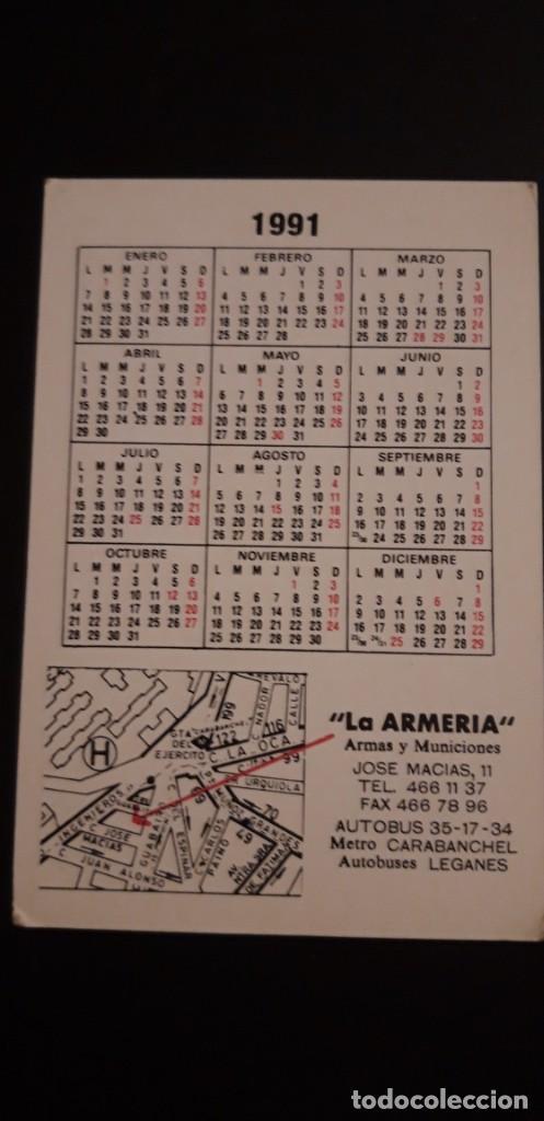 Coleccionismo Calendarios: *1 CALENDARIO DE ** .KALASHNIKOV 56 . LA ARMERIA ** .AÑO 1991 ** - Foto 2 - 226138381