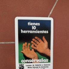 Coleccionismo Calendarios: CALENDARIO FOURNIER LEONESA DE INDUSTRIA Y COMERCIO, MUTUA PATRONAL ACCIDENTES DEL TRABAJO AÑO 1983. Lote 226299580