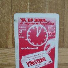 Coleccionismo Calendarios: CALENDARIO FOURNIER FINISTERRE AÑO 1958. VER FOTO ADICIONAL. Lote 226669965