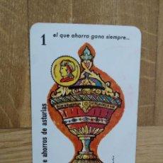 Coleccionismo Calendarios: CALENDARIO FOURNIER CAJA DE AHORROS DE ASTURIAS AÑO 1961. VER FOTO ADICIONAL. Lote 226688655