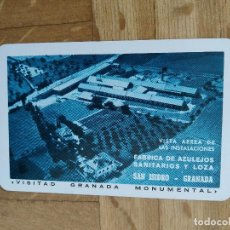 Collectionnisme Calendriers: CALENDARIO FOURNIER FABRICA DE AZULEJOS SAN ISIDRO. GRANADA. AÑO 1965. VER FOTO ADICIONAL. Lote 226775215
