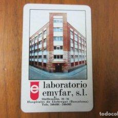 Coleccionismo Calendarios: CALENDARIO FOURNIER-LABORATORIO EMYFAR-DEL 1971 VER FOTOS. Lote 227078935