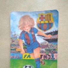 Coleccionismo Calendarios: CALENDARIO F.C B AÑO 1992. Lote 227977902