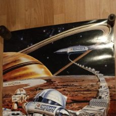 Coleccionismo Calendarios: ANTIGUO CALENDARIO DE 1990 NISSAN - TRACTORES EBRO. Lote 228064885
