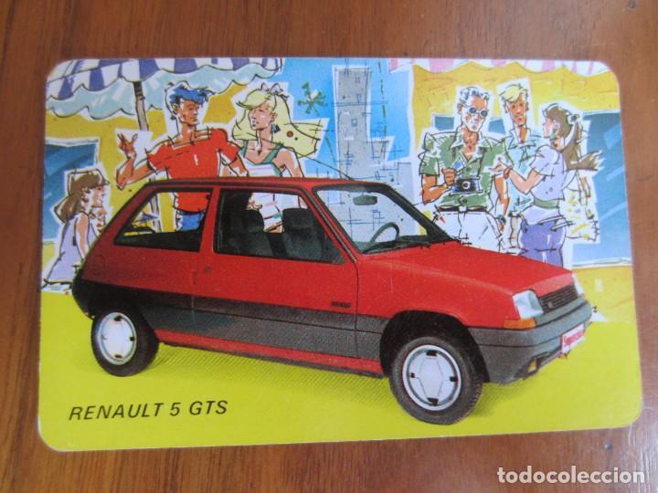 CALENDARIO FOURNIER-RENAULT 5 GTS-DEL 1986 VER FOTOS (Coleccionismo - Calendarios)