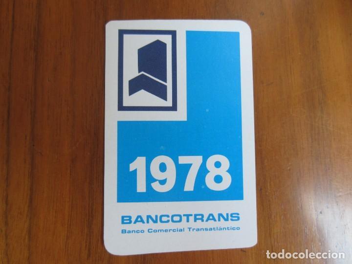 CALENDARIO FOURNIER-BANCOTRANS-DEL 1978 VER FOTOS (Coleccionismo - Calendarios)