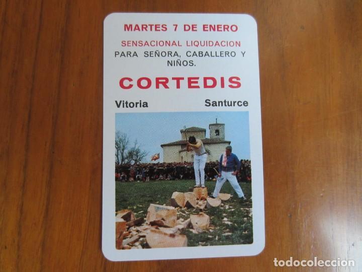 CALENDARIO FOURNIER-CORTEDIS-DEL 1975 VER FOTOS (Coleccionismo - Calendarios)