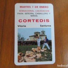 Coleccionismo Calendarios: CALENDARIO FOURNIER-CORTEDIS-DEL 1975 VER FOTOS. Lote 228092180