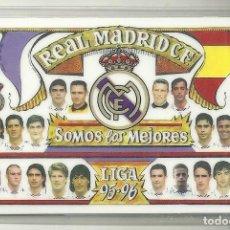 Colecionismo Calendários: CALENDARIO FÚTBOL. REAL MADRID. ¡ALA MADRID! AÑO 1996. Lote 228357847