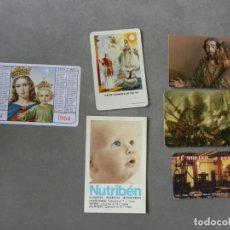 Collezionismo Calendari: CALENDARIOS ILUSTRACIONES VARIAS.LOTE DE 6. DIFERENTES AÑOS.W.. Lote 229308125