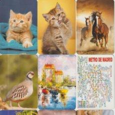 Coleccionismo Calendarios: CALENDARIOS DE SERIE - BOLSILLO, 2018-19-20. Lote 229643085
