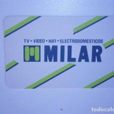 Coleccionismo Calendarios: CALENDARIO DE BOLSILLO MILAR ELECTRODOMESTICOS. Lote 229656130