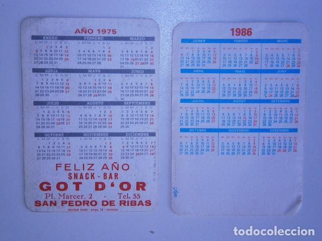 Coleccionismo Calendarios: calendario de bolsillo F.C Barcelona (2) - Foto 2 - 229656230