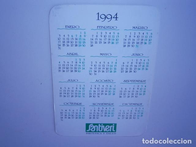 Coleccionismo Calendarios: calendario de bolsillo Santiveri - Foto 2 - 229656625