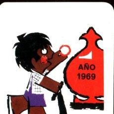 Coleccionismo Calendarios: CALENDARIO FOURNIER. CAJA DE AHORROS DE LA INMACULADA 1969. Lote 231761830