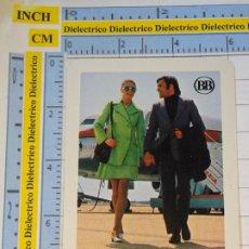 Coleccionismo Calendarios: CALENDARIO DE BOLSILLO FOURNIER. AÑO 1973. CHEQUES DE VIAJERO BANCO BILBAO. AVIÓN IBERIA. Lote 231945080