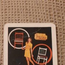 Coleccionismo Calendarios: FOURNIER 1969 SILLAS MOCHOLI. Lote 232733810