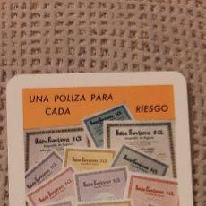 Coleccionismo Calendarios: FOURNIER 1967 UNIÓN PREVISORA S.A.. Lote 232735340