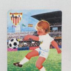 Coleccionismo Calendarios: CALENDARIO 1986 SEVILLA CLUB DE FÚTBOL BUEN ESTADO PUBLICIDAD MÁLAGA. Lote 233755120