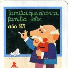 Coleccionismo Calendarios: CALENDARIO FOURNIER CAJA DE AHORROS VIZCAINA 1971 VER FOTOS. Lote 233878625