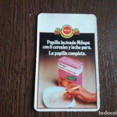 Collectionnisme Calendriers: CALENDARIO DE PUBLICIDAD, PAPILLA LACTEADA MILUPA AÑO 1980. Lote 234761530