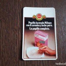 Collectionnisme Calendriers: CALENDARIO DE PUBLICIDAD, PAPILLA LACTEADA MILUPA AÑO 1978. Lote 234761610