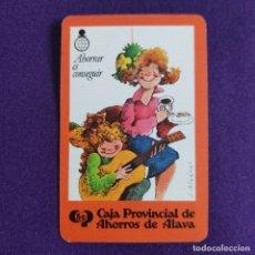 Coleccionismo Calendarios: CALENDARIO FOURNIER. CAJA PROVINCIAL DE AHORROS DE ALAVA. 1981. Lote 234895445