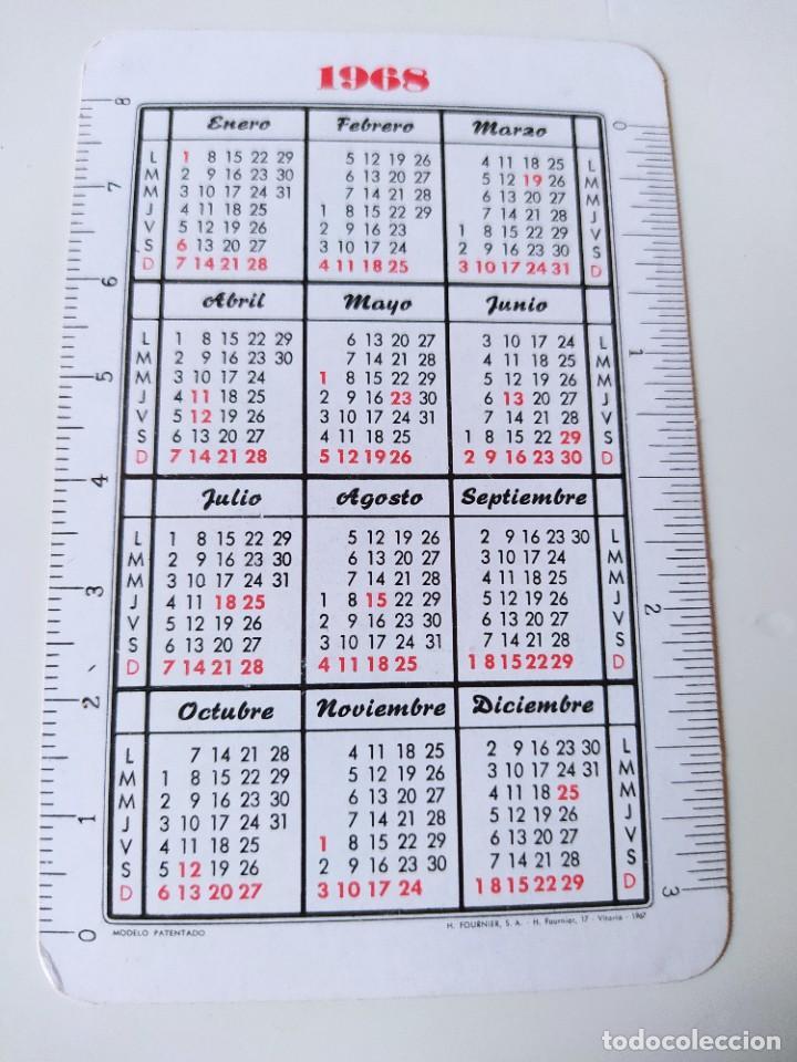 Coleccionismo Calendarios: CALENDARIO FOURNIER CAJA POSTAL 1968 - Foto 2 - 234901770